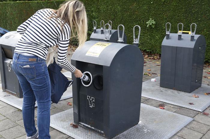 Leidsebuurt gaat over op omgekeerd afval inzamelen