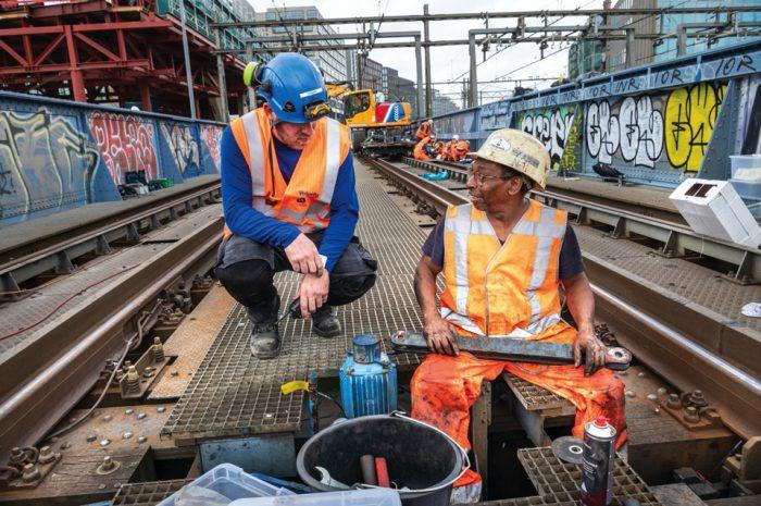 Werk aan het spoor (update 18september2020)