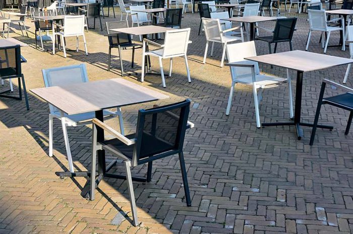 Terrassen in Haarlem ruimer met behulp van tien gouden terrasregels