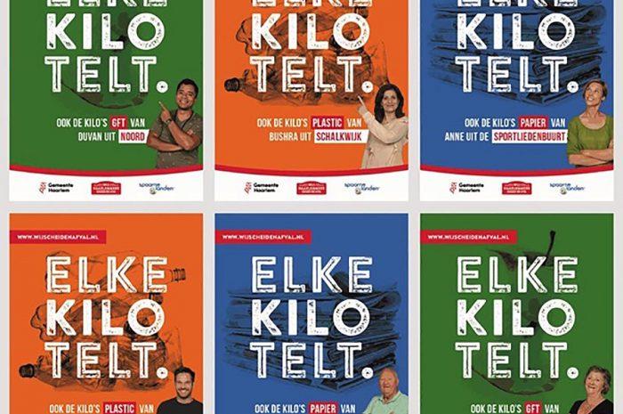 Kleurrijke campagne 'Elke kilo telt' is begonnen