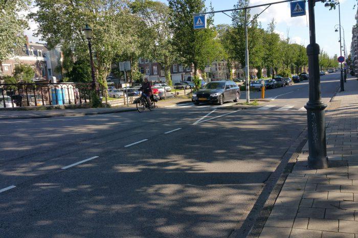 Toezegging gemeente over fietsstroken / belijning op de Leidsevaart